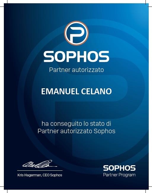 informatica in azienda partner ufficiale di sophos - dott. celano emanuel