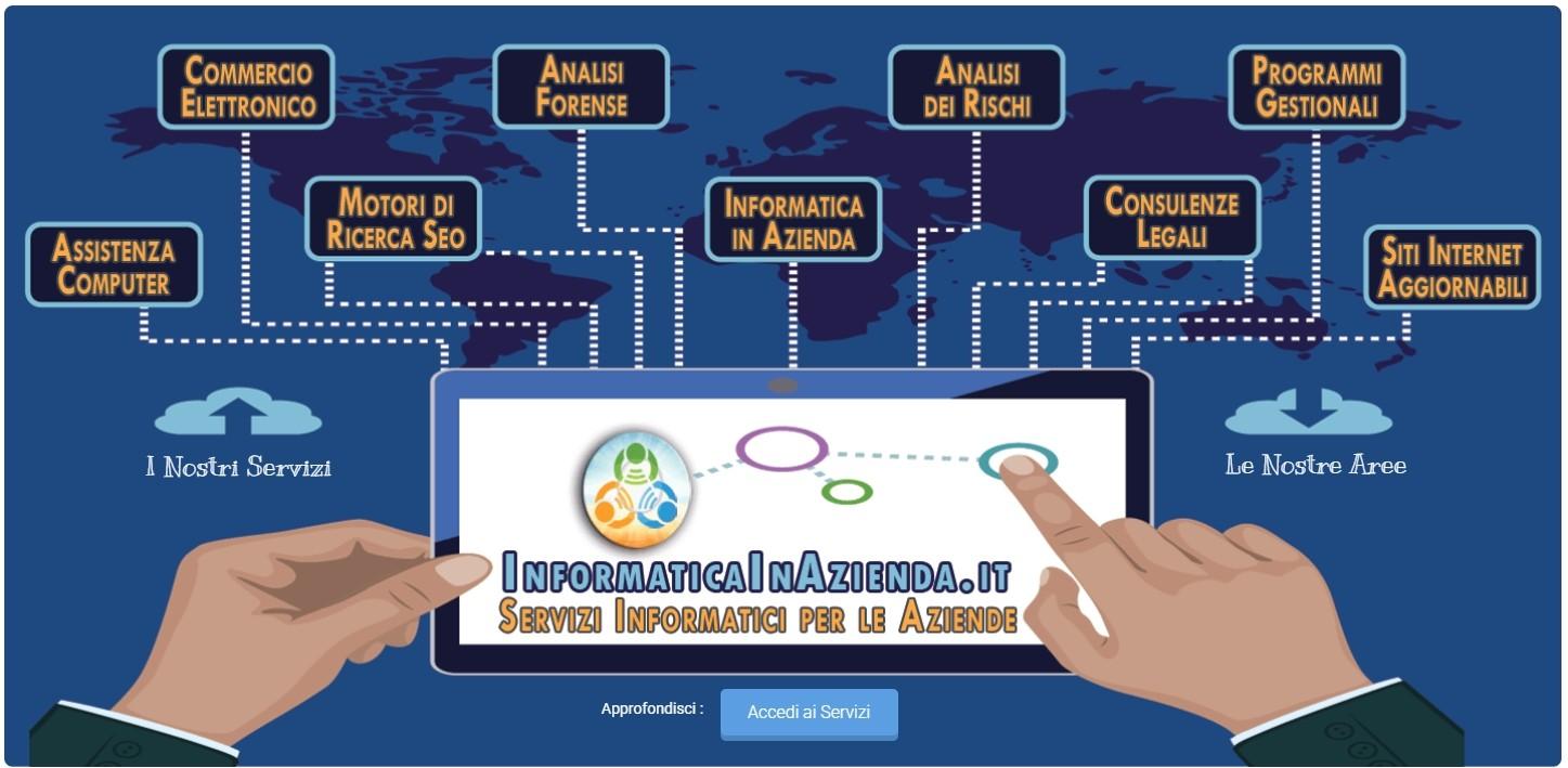 [ CLICK QUI ] per conoscere ASSISTENZA e SERVIZI offerti da Informatica in Azienda