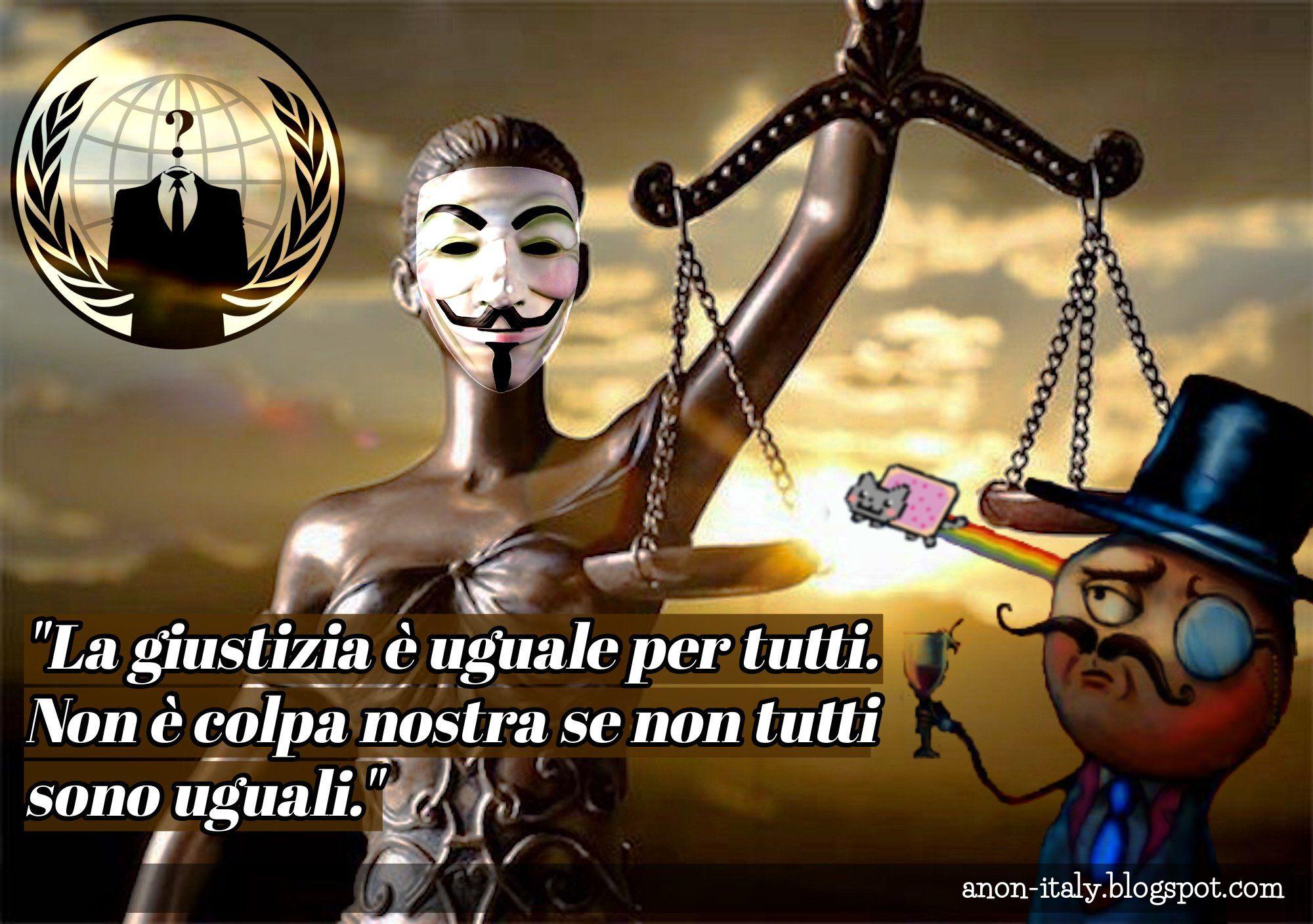 Gli hacker di Anonymous pubblicano i dati di oltre 30mila avvocati (Raggi compresa)