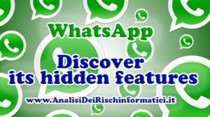 WhatsApp: Discover its hidden features