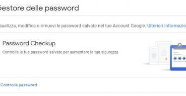 Google Password Checkup : nuova funzione di google per controllare la sicurezza delle password e sapere se sono state compromesse