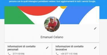 Controlla la visibilità delle tue informazioni su Google