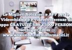Le Migliori Soluzioni e APP per le Videochiamate e videoconferenze di Gruppo GRATUITE fino a 5000 PERSONE e trucchi per Zoom