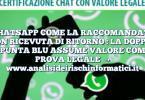 WHATSAPP COME LA RACCOMANDATA CON RICEVUTA DI RITORNO : LA DOPPIA SPUNTA BLU ASSUME VALORE COME PROVA LEGALE