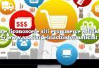 Come riconoscere siti ecommerce affidabili