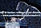11 tipi di hacker: conoscerli per difendersi
