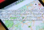 Come comprendere l'autenticità degli spostamenti sulla Timeline di Google Maps ai fini di produrre una prova legale ?