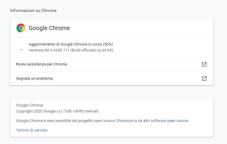 Nuove falle zero-day per google Chrome : IMPORTANTE AGGIORNARE SUBITO il browser