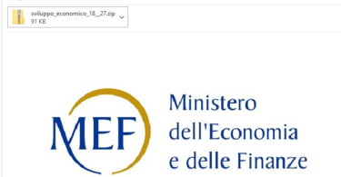 ATTTENZIONE alla frode per email : Il Ministro dello sviluppo economico DISPONE URGENTEMENTE ai titolari di attività di verificare la loro tipologia di impresa