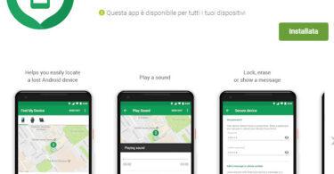 Scopri come ritrovare e proteggere un dispositivo smarrito grazie a Google