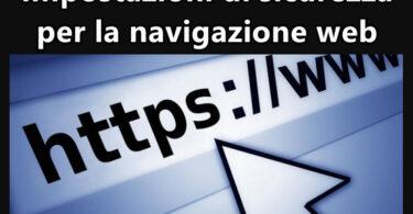 Impostazioni di sicurezza per la navigazione, pulizia dei dati dal tuo browser e protezione della privacy con intelligente gestione dei cookie