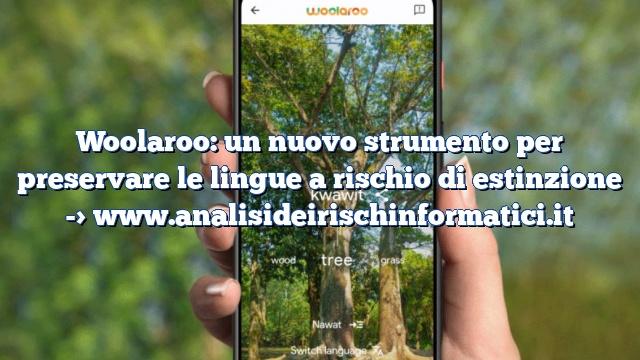 Woolaroo: un nuovo strumento per preservare le lingue a rischio di estinzione