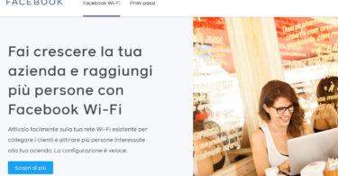Fai crescere la tua azienda e raggiungi più persone con Facebook Wi-Fi
