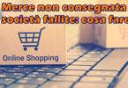 Merce non consegnata o società fallite: come ovviare ai problemi con i siti ecommerce