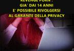 REVENGE PORN : GIA' DAI 14 ANNI E' POSSIBILE RIVOLGERSI DAL GARANTE DELLA PRIVACY