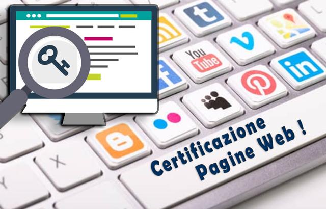 Certificare permanenza online di una pagina web