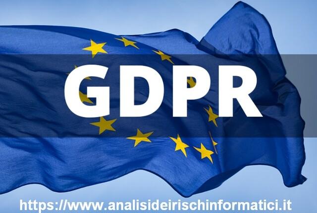 Consulenza Privacy GDPR – Ue 2016/679