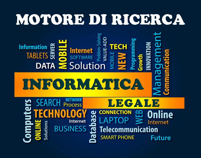 Motore di ricerca informatica legale
