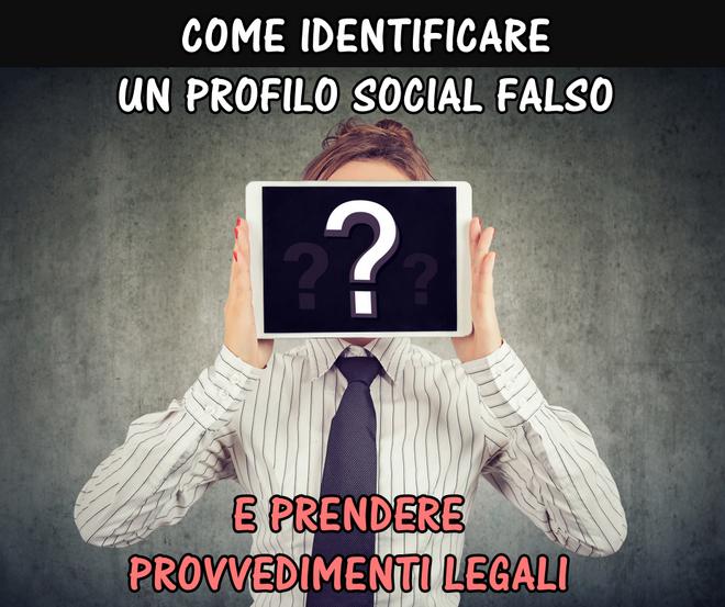 profilo social falso