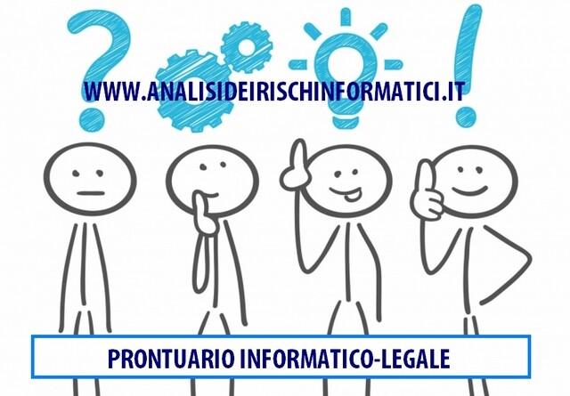 Prontuario risposte informatico legali