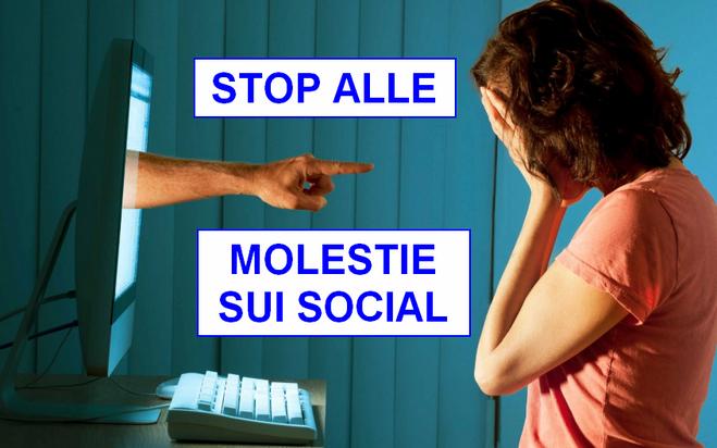molestie su facebook e sui social