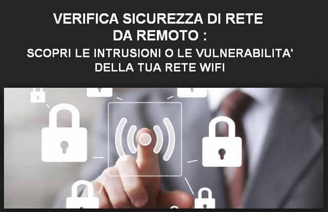 Servizio verifica sicurezza di rete da remoto