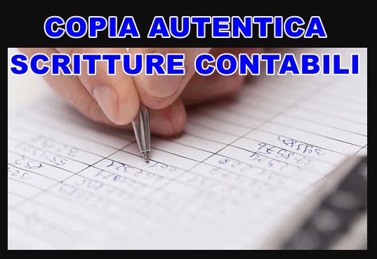 copia autentica delle scritture contabili