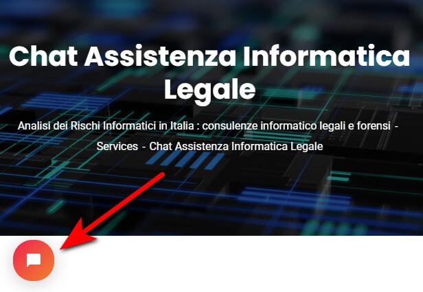 chat di assistenza legale informatica